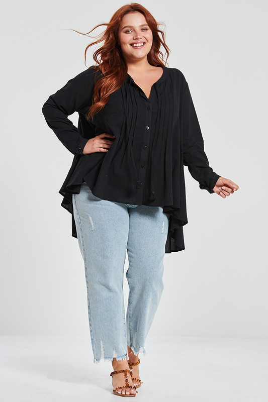 Laidback Shirt in Black