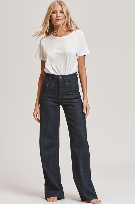 Indigo Wide Leg Jean