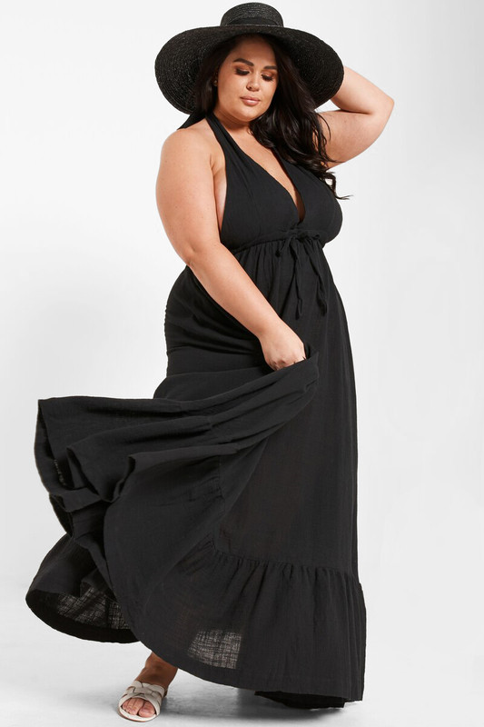 Audrey Dress in Black