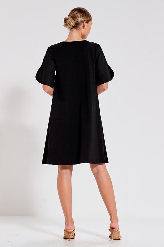 Sonia Swing Dress in Black