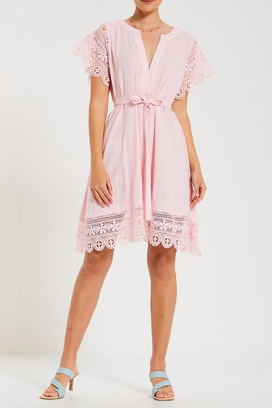Dreamer Dress in Pastel Pink