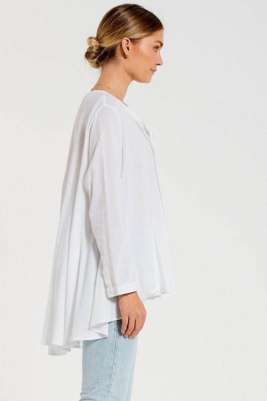 Laidback Shirt in White