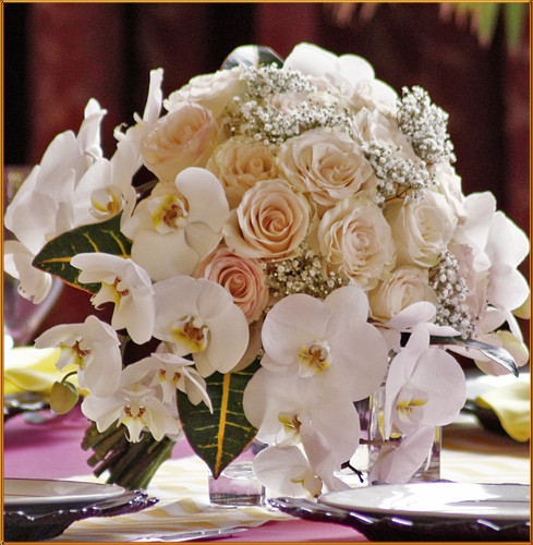 Blushing Grace - Bridal Bouquet