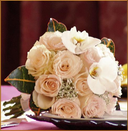 Blushing Grace - Bridesmaid Bouquet