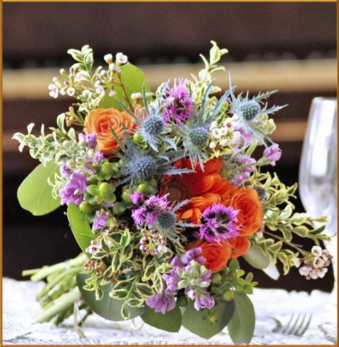 Prairie Wind Bridesmaid Bouquet
