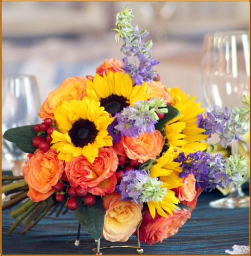 Sunrise Bridal Bouquet