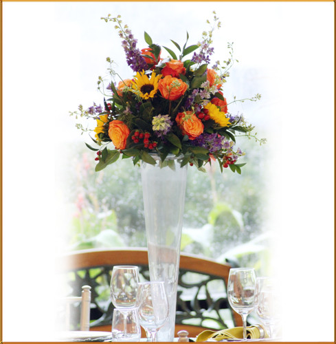 Sunrise Elevated Centerpiece