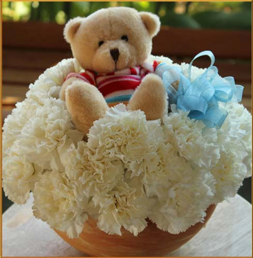 Teddy Bye Bouquet