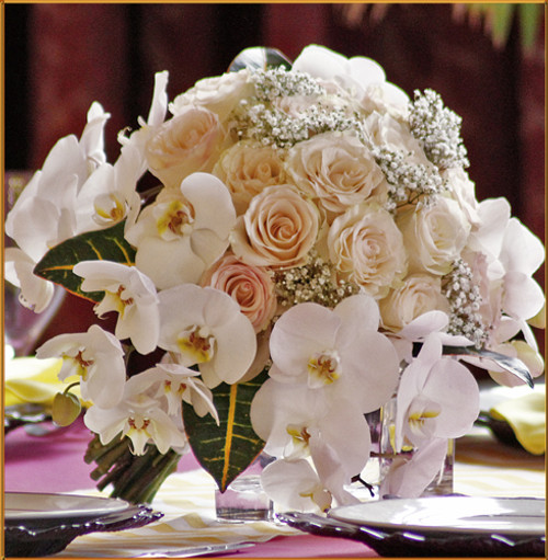 Blushing Grace - Bridal Bouquet