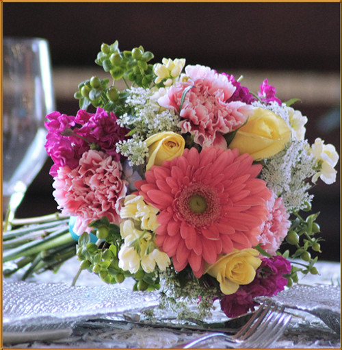 Secret Garden Bridesmaid Bouquet