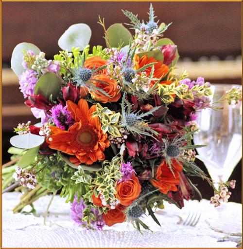 Prairie Wind Bridal Bouquet