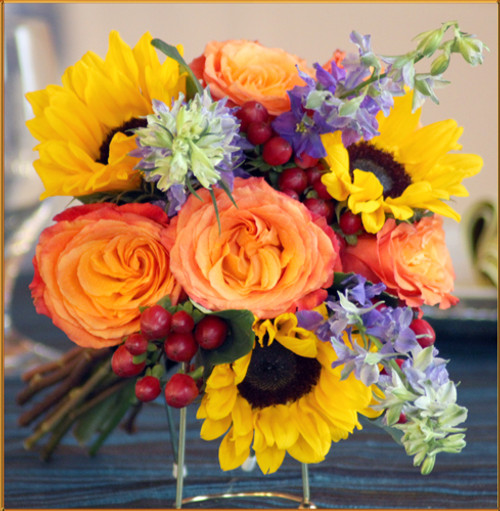 Sunrise Bridesmaid Bouquet