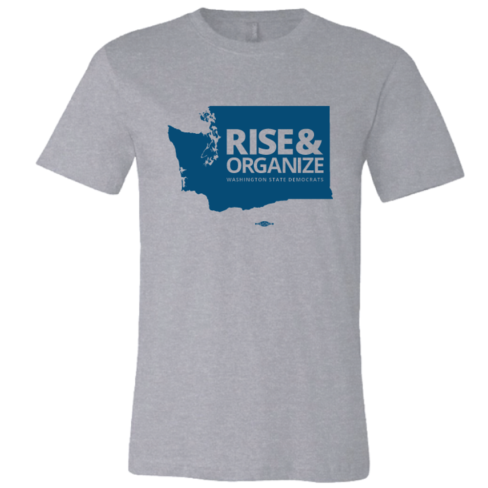 Rise And Organize (Athletic Heather Tee)