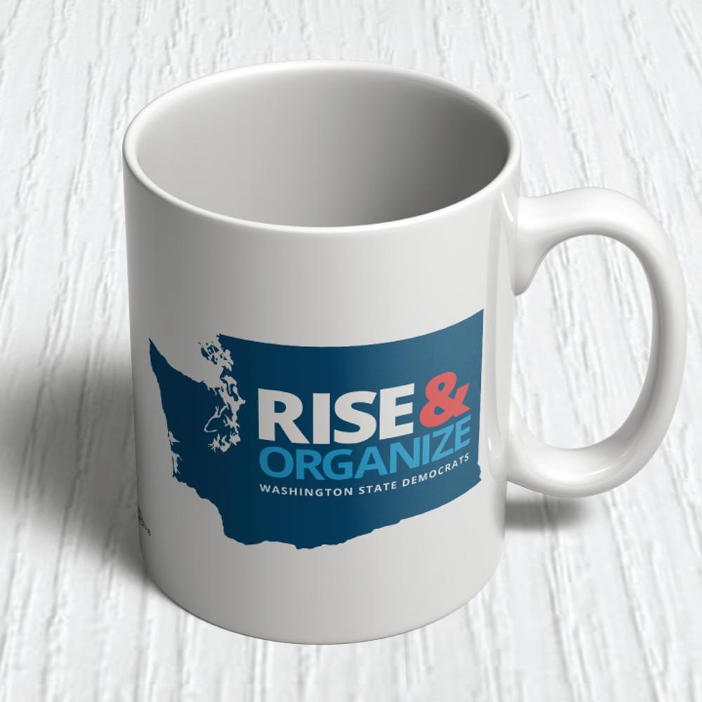 Rise And Organize (11oz. Coffee Mug)