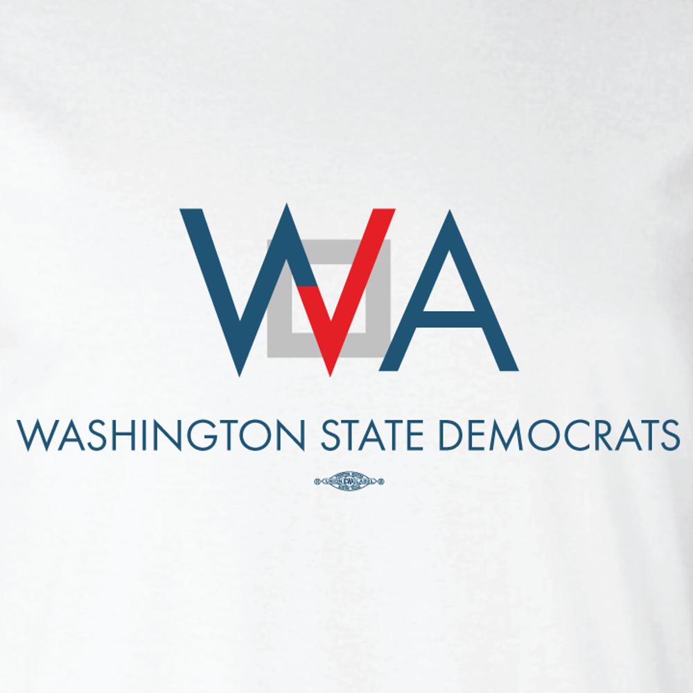 Washington Democrats Official Logo (WhiteTee)