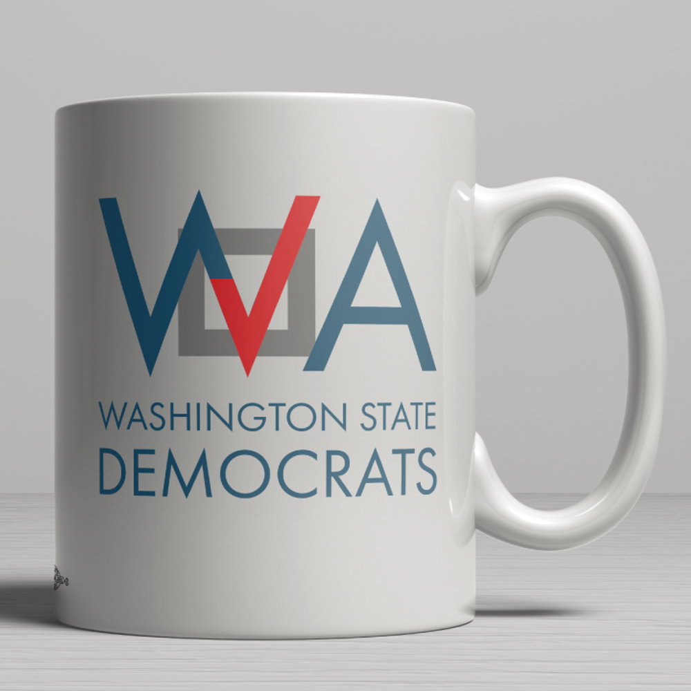 Washington Democrats Official Logo  (11oz. Coffee Mug)