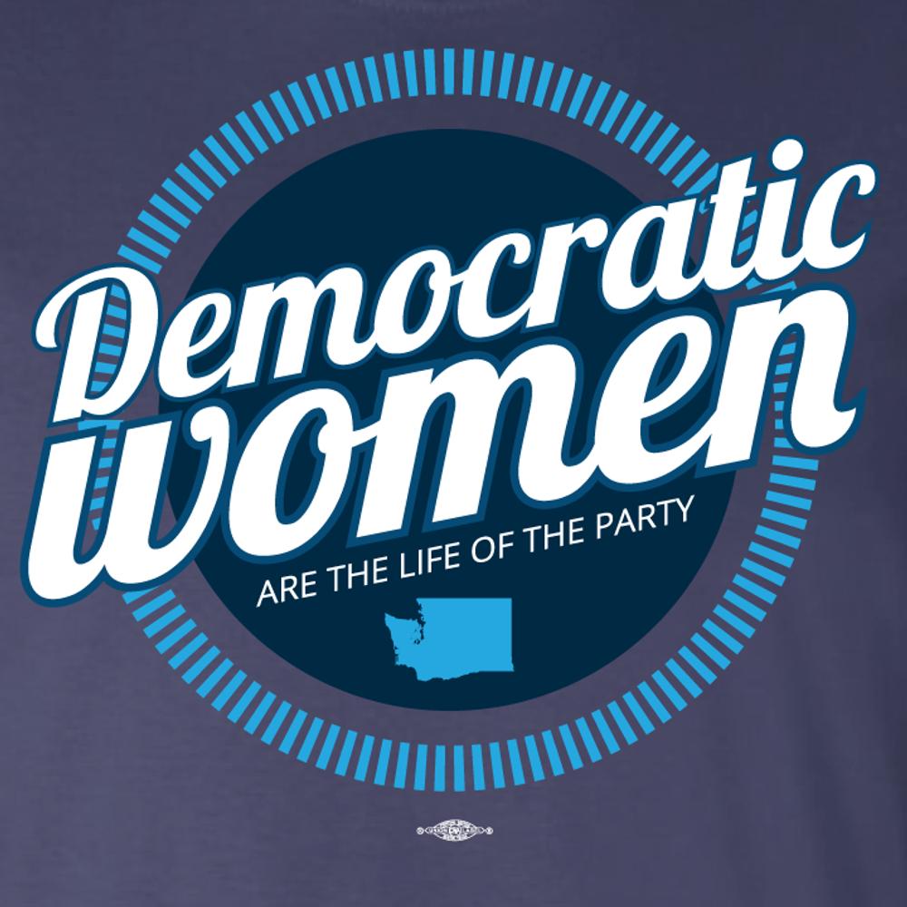 Democratic Women (Navy Tee)
