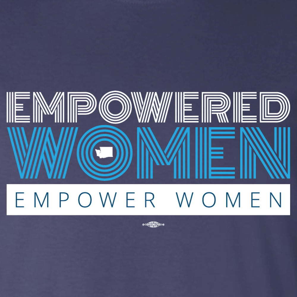 Empowered Women Empower Women (Navy Tee)