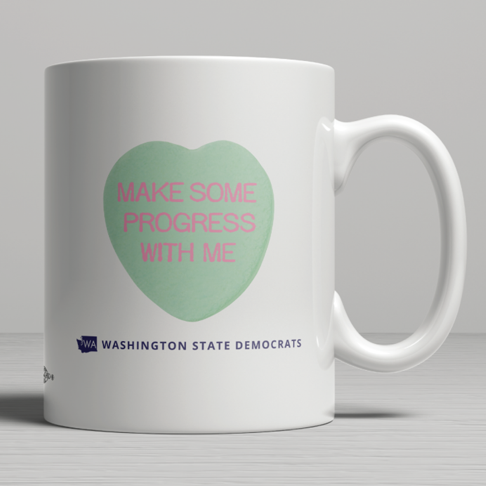 Make Progress With Me (11oz. Coffee Mug)