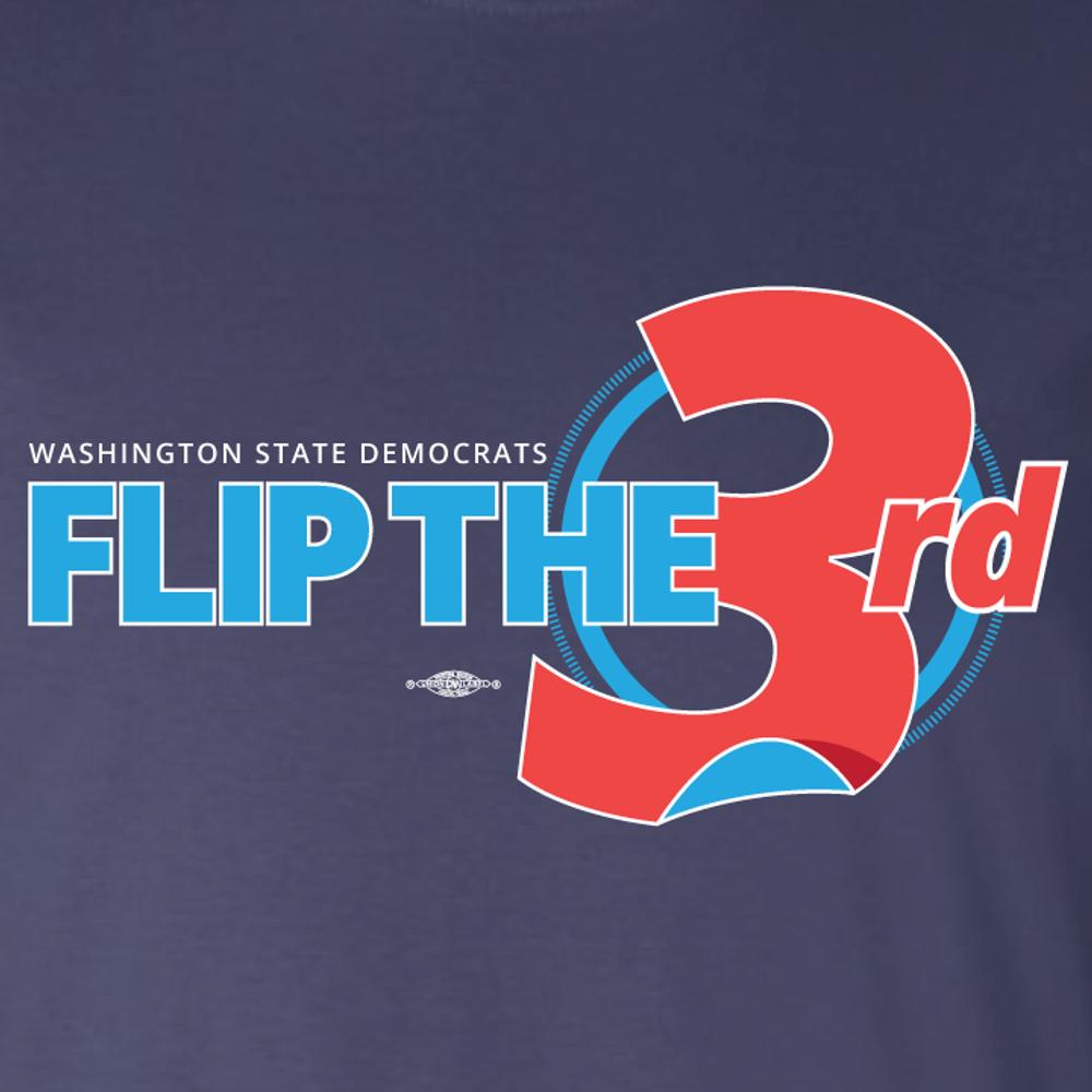 Flip The 3rd (Navy Tee)