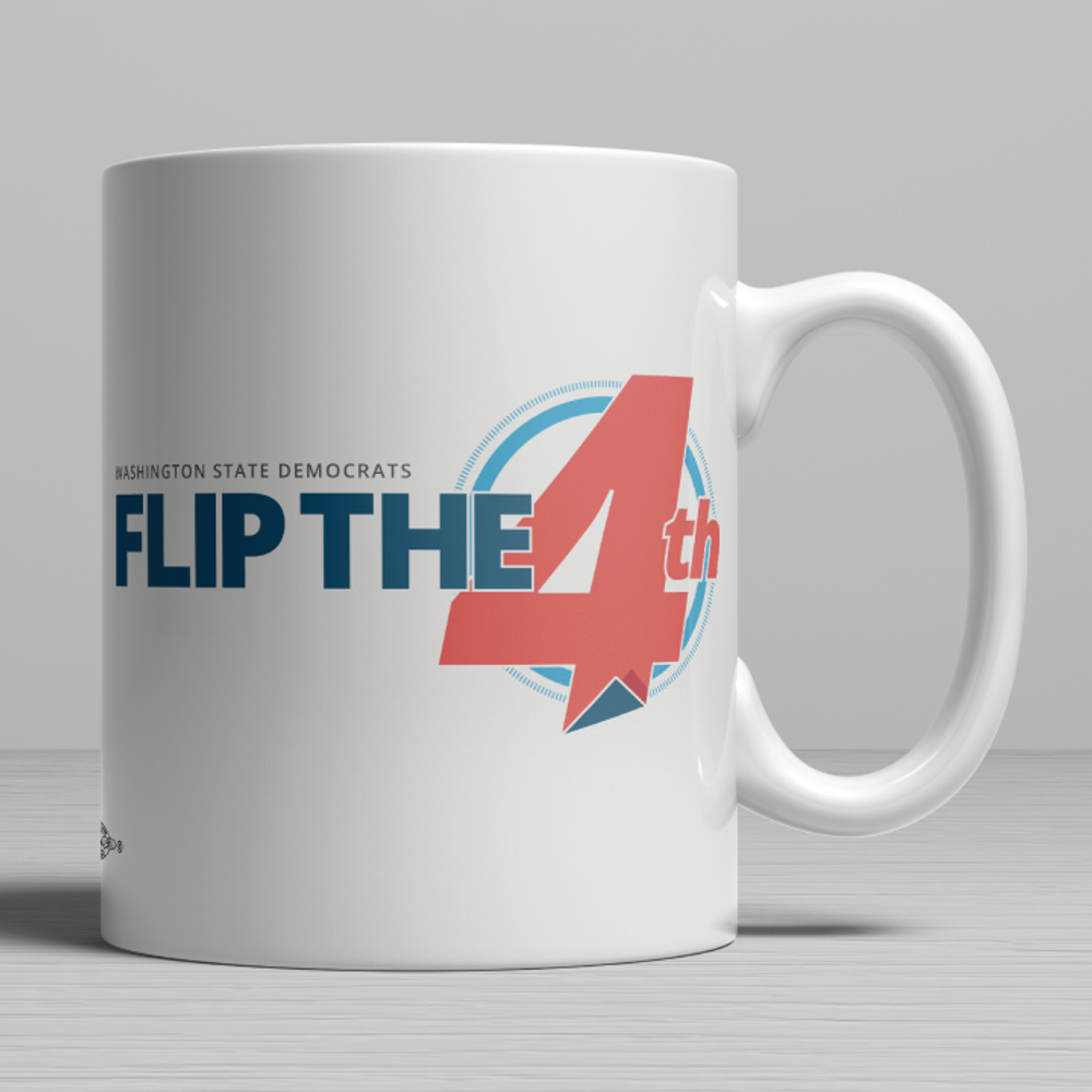 Flip The 4th (11oz. Coffee Mug)