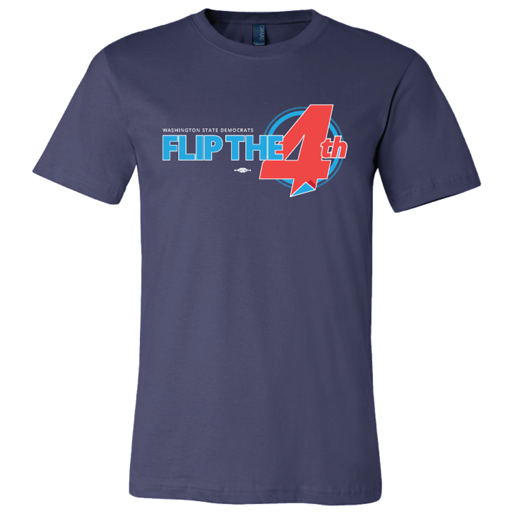 Flip The 4th (Navy Tee)