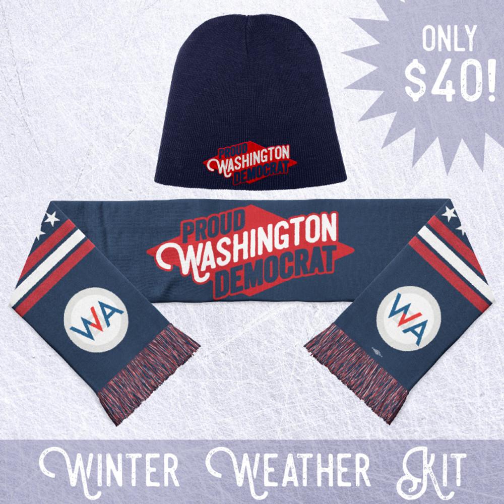 Proud Washington Democrat - Winter Weather Kit!