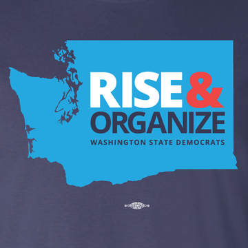 Rise and Organize (Navy Tee)