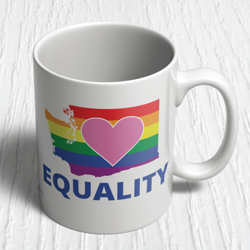 Equality Washington Democrat (11oz. Coffee Mug)