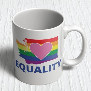 Equality Washington Democrat (11oz. Coffee Mug)