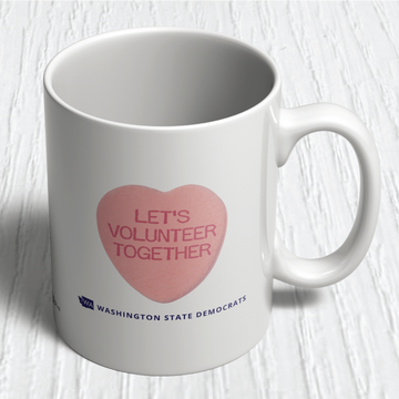 Let's Volunteer Together (11oz. Coffee Mug)