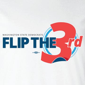 Flip The 3rd (White Tee)