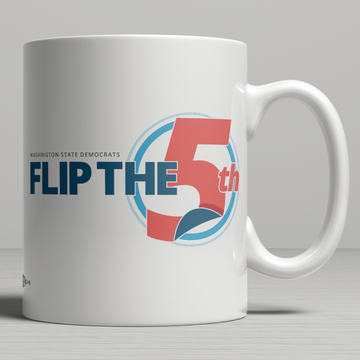 Flip The 5th (11oz. Coffee Mug)