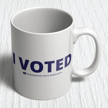 I Voted (11oz. Coffee Mug)