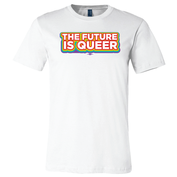 The Future is Queer (White Tee)