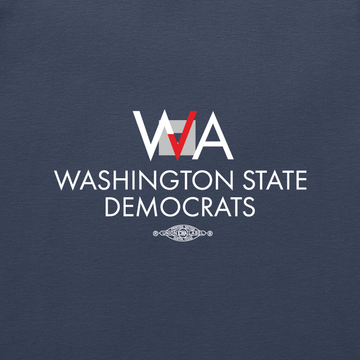 Washington Democrats Official Logo (Navy Polo)