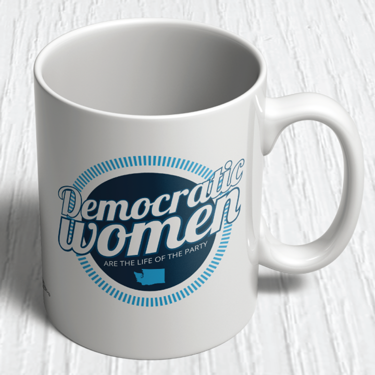 Democratic Women (11oz. Coffee Mug)