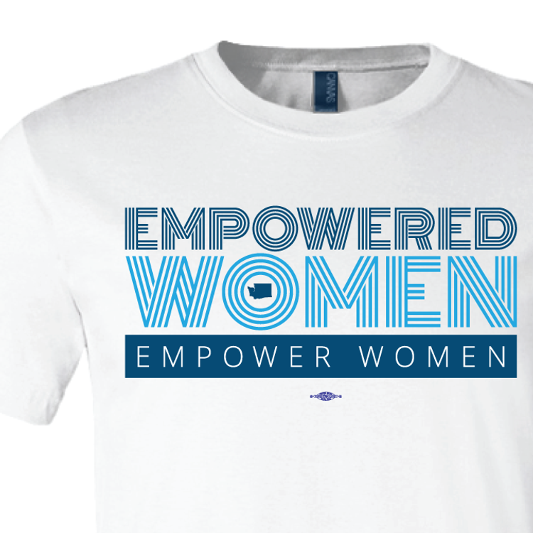 Empowered Women Empower Women (White Tee)