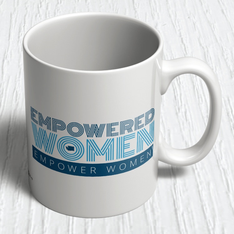 """Empowered Women Empower Women"" (11oz. Coffee Mug)"