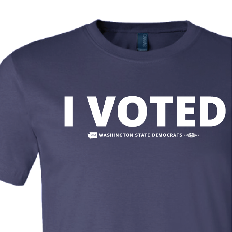 I Voted (Navy Tee)