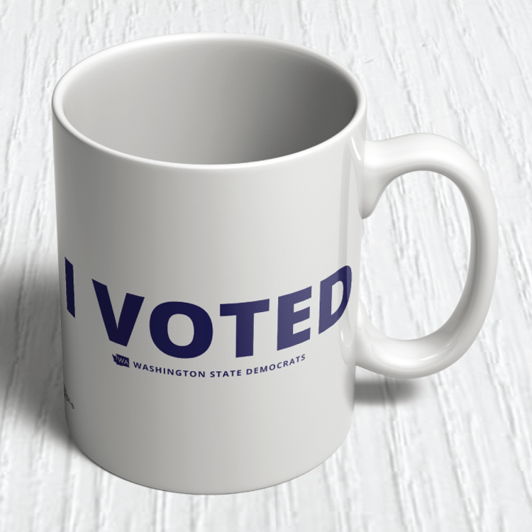 I Voted (11oz. Coffee Mug)