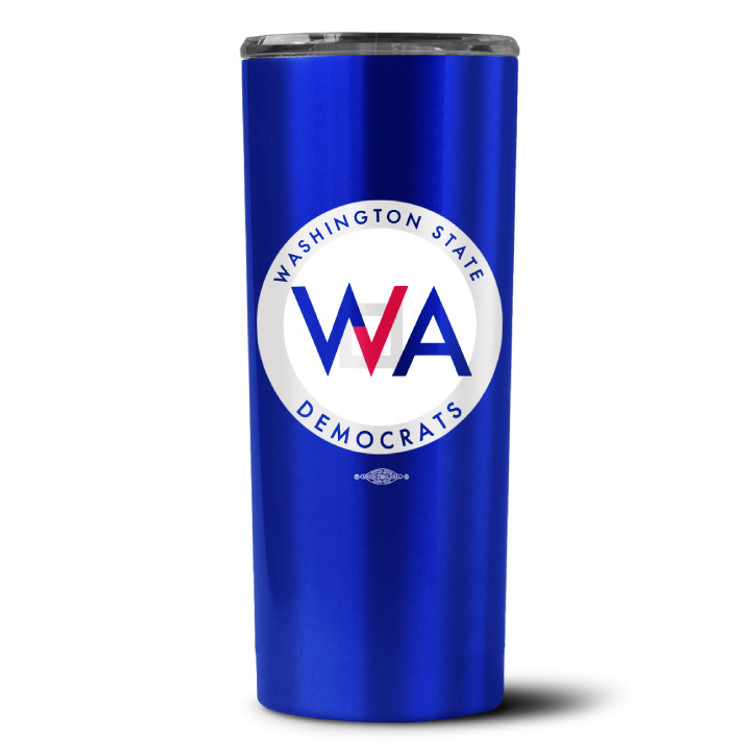 Washington Democrats Official Logo ( 18 Oz. Travel Tumbler)