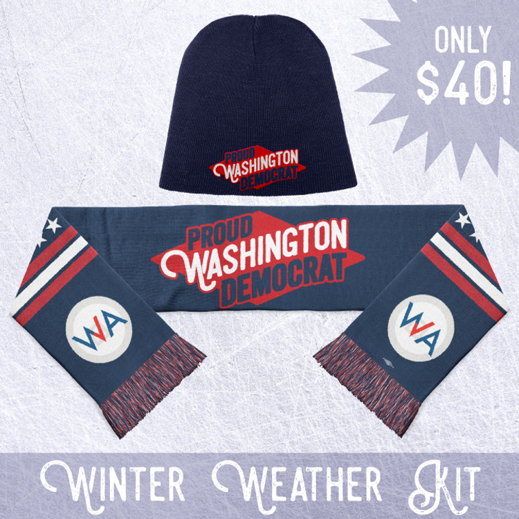Proud Washington Democrat - Winter Weather Kit!