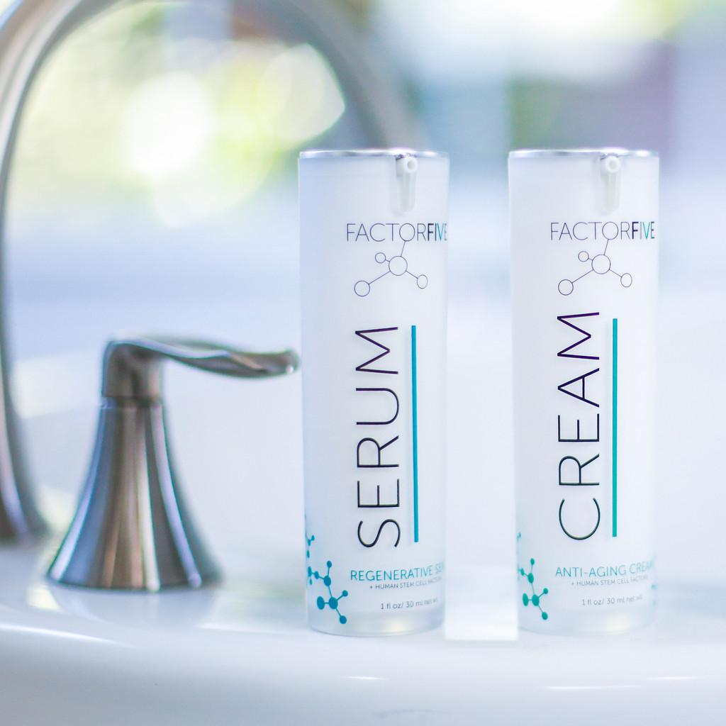 Regenerative Serum and Anti-Aging Cream Gift Set