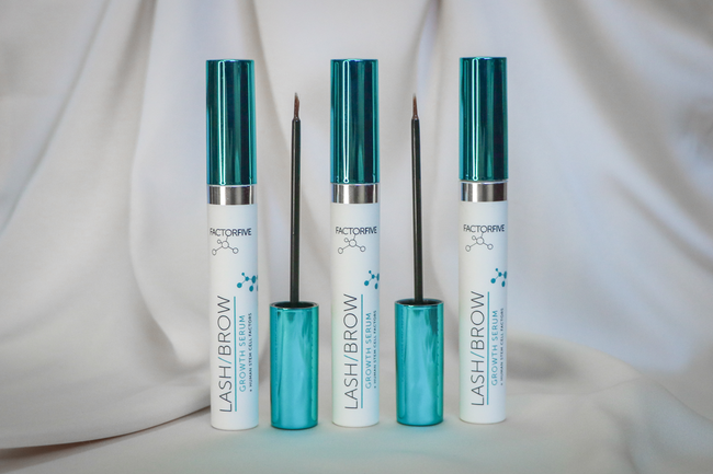 New FACTORFIVE Serum Transforms Thinning Brows and Eyelashes
