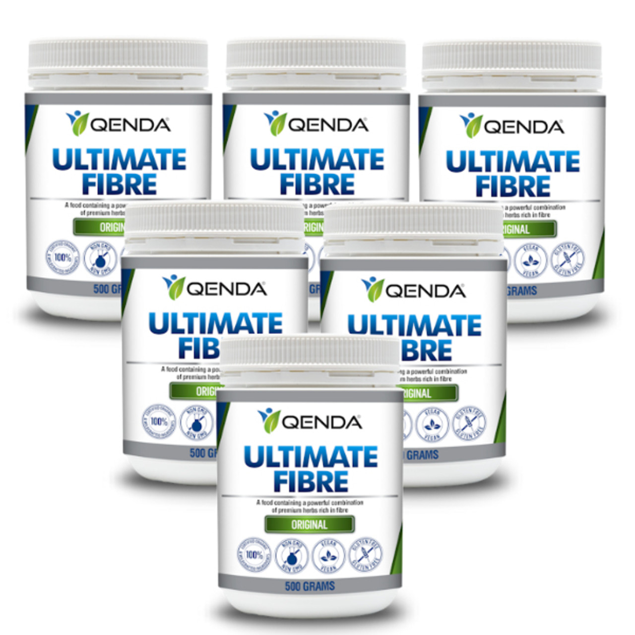 6 Pack - Qenda Ultimate Fibre - 10% Discount