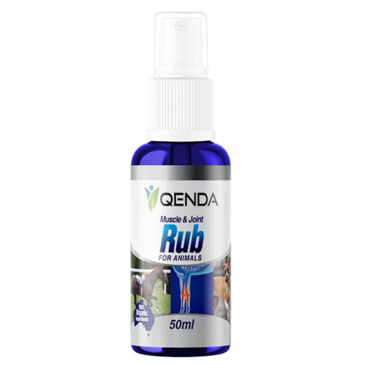 Qenda Muscle & Joint Rub For Animals - 50ml