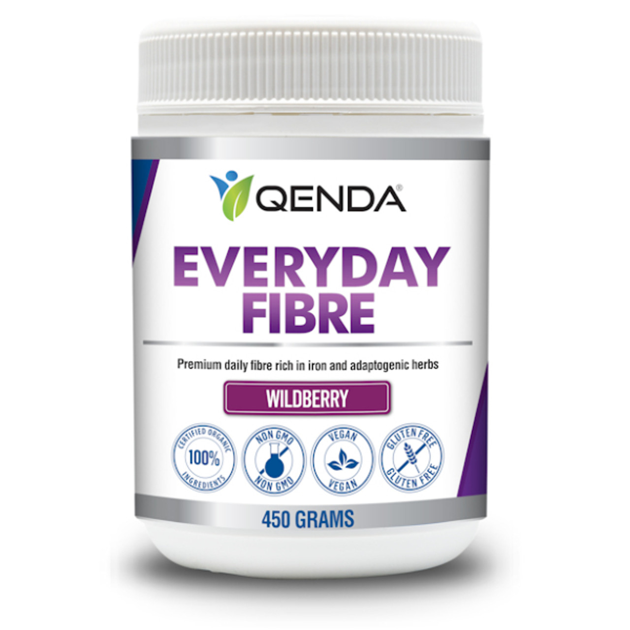 Qenda Everyday Fibre - Wildberry Formulation 450g