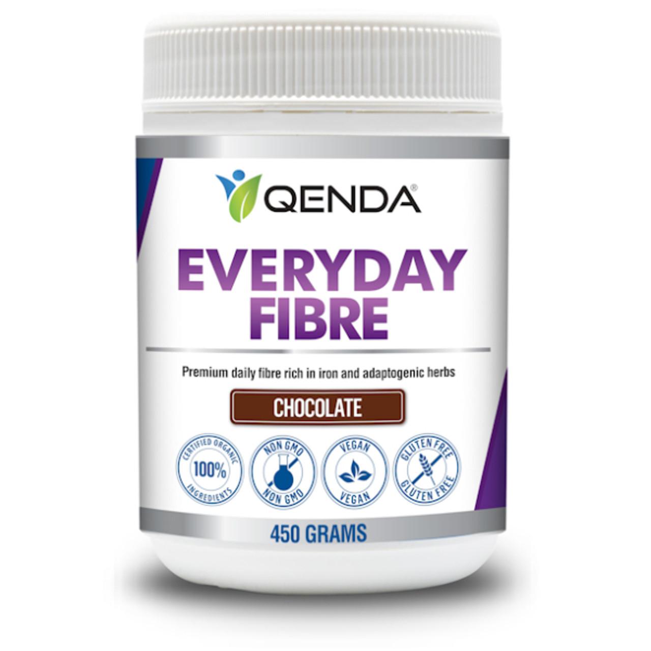 Qenda Everyday Fibre - Chocolate Formulation 450g