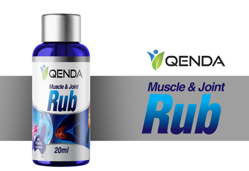 Qenda Muscle & Joint Rub - 20ml